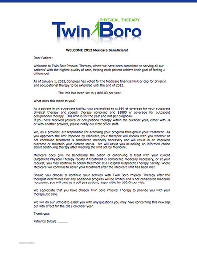 new patient forms twin boro physical therapy